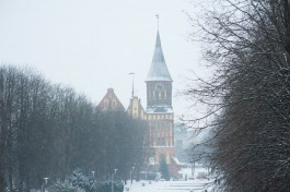 Калининград вошёл в пятёрку самых популярных зимних направлений у россиян