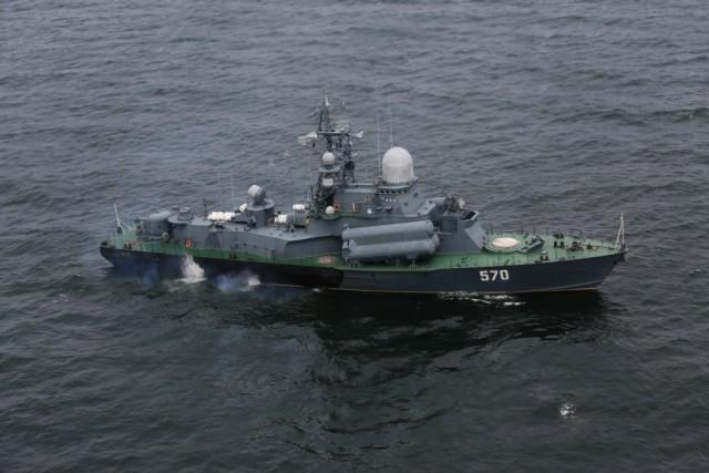 Корабли Балтийского флота вышли вморе настрельбы