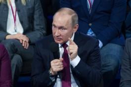 Владимир Путин: Я для себя сам должен буду решить, что делать по окончании президентского срока