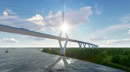 Выкуп участков для строительства концессионного моста через Преголю оплатят из областного бюджета