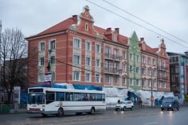 На Ленинском проспекте в Калининграде открыли ещё один дом с «историческим» ремонтом