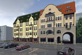 «Разобрать до фундамента»: архитектурная мастерская представила проект новой Кройц-аптеки