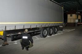 В Гжехотках задержали калининградца на грузовике с подозрительным VIN-номером
