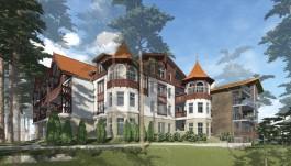 «На склоне среди деревьев»: проект гостиницы в центре Светлогорска прошёл историко-культурную экспертизу