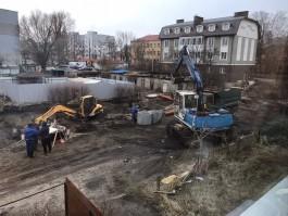 Из-за аварии на водопроводе в Балтийске затопило двор дома