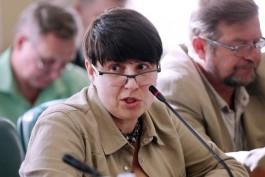 Ольга Аринцева сложила полномочия главы региональной Общественной палаты