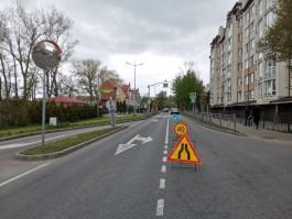 В Зеленоградске на пешеходном переходе сбили девятилетнюю девочку