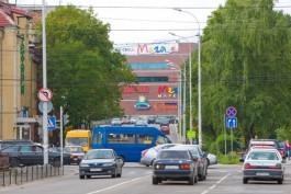 В Калининграде до вечера не будет работать светофор на перекрёстке улиц Горького и Озерова