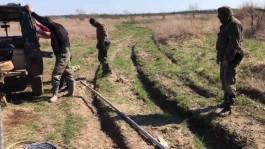 Полиция изъяла у чёрных копателей под Зеленоградском внедорожник и четыре мотопомпы