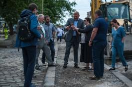 Мэр Калининграда поручил восстановить один из последних трамвайных островков Кёнигсберга