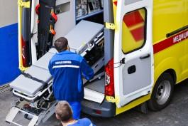 На улице Соммера в Калининграде автомобиль сбил 13-летнюю девочку на переходе