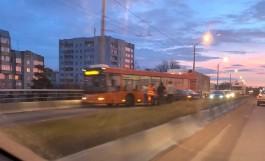 Из-за ДТП перекрыто движение по мосту на проспекте Победы в Калининграде