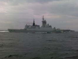 Корабли Балтфлота несколько дней будут стрелять в море
