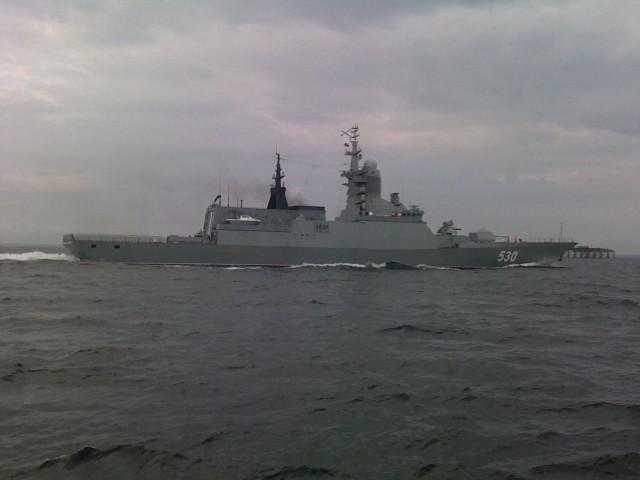 Корабли Балтфлота некоторое количество дней  будут стрелять вморе