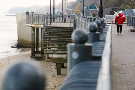 «Без пирса и лестниц»: как выглядит променад в Светлогорске после восстановительных работ