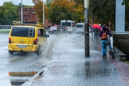 Калининградцам обещают дождливую и тёплую рабочую неделю