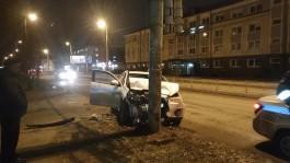 На улице Горького в Калининграде в ДТП пострадали три человека