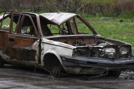 Ночью в Калининградской области сгорело четыре «Фольксвагена»