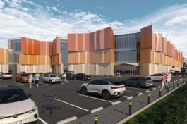 Под Калининградом хотят построить крупный торговый центр из двух корпусов