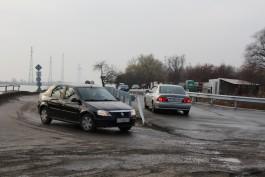 В Прегольском открыли движение по новому временному мосту