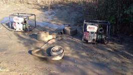 В Зеленоградском округе полиция задержала шесть чёрных копателей янтаря с мотопомпами