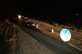 В Правдинском округе неизвестный автомобиль насмерть сбил 46-летнего пешехода и скрылся