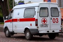 После пожара в многоэтажке на ул. Гагарина в Калининграде увезли в больницу электрика