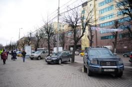 С 4 мая на участке улицы Театральной в Калининграде запретят парковку
