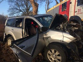 УМВД: В ДТП на трассе Калининград — Балтийск погибла 59-летняя пассажирка внедорожника