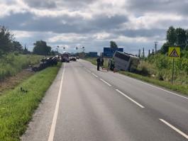 Полиция: В аварии на светлогорской трассе погиб водитель «Шкоды», пострадали четыре человека