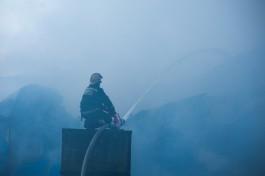Под Краснознаменском при пожаре погиб 72-летний пенсионер