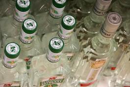 В Калининграде уничтожат 10 тысяч литров контрафактного алкоголя