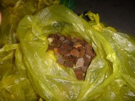 Жительница региона пыталась незаконно вывезти в Литву 17 кг янтаря