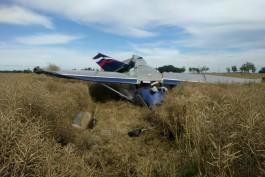 МЧС показало видео с места жёсткой посадки самолёта под Калининградом