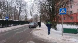 В Калининграде «Опель» сбил 13-летнюю девочку на пешеходном переходе