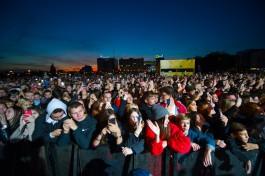 Спортивно-музыкальный фестиваль у Дома Советов в Калининграде посетили 17 тысяч человек