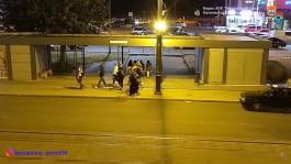 В Калининграде задержали вандалов, которые рисовали на остановках, дорожных знаках и рекламных щитах