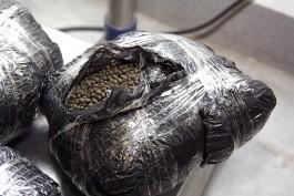 За полгода в аэропорту «Храброво» задержали 110 кг насвая