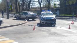 В Багратионовске машина Росгвардии столкнулась с «Фольксвагеном»