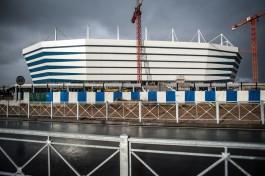 В Калининграде рядом со стадионом к ЧМ-2018 установят большой павильон для торговли янтарными изделиями