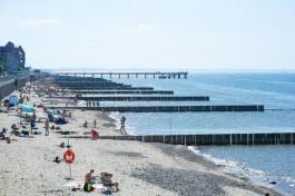Росгидромет: Температура воды рядом с Калининградом шикарная, море прогрелось уже до 21 градуса