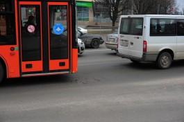 В Калининграде частично изменили два маршрута общественного транспорта