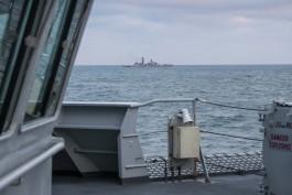 Британский корабль сопроводил отряд Балтийского флота через Ла-Манш
