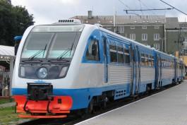 КЖД переносит остановку рельсобуса из-за ремонта платформы на Киевской
