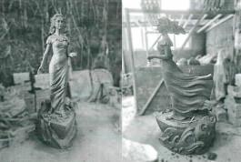 Власти Зеленоградска согласовали новую скульптуру «Бегущая по волнам»