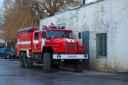 За сутки в Калининграде выгорели два автомобиля