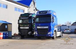 В Калининграде полицейские задержали грузовики, угнанные три года назад в Европе