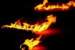 При пожаре на ул. Новгородской в Калининграде погибли мужчина и женщина