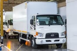 На «Автоторе» запустили производство полного цикла грузовика Hyundai HD78