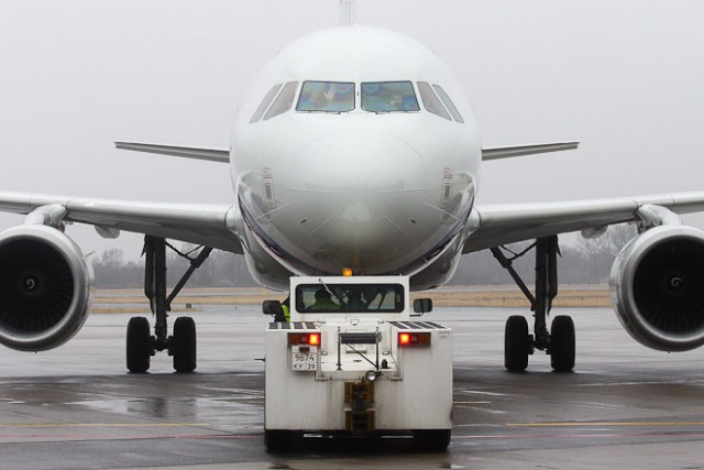 Нетрезвый гражданин Волгодонска устроил дебош наборту самолета вКалининграде